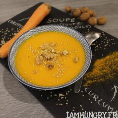 Soupe carotte coco curcuma 1d