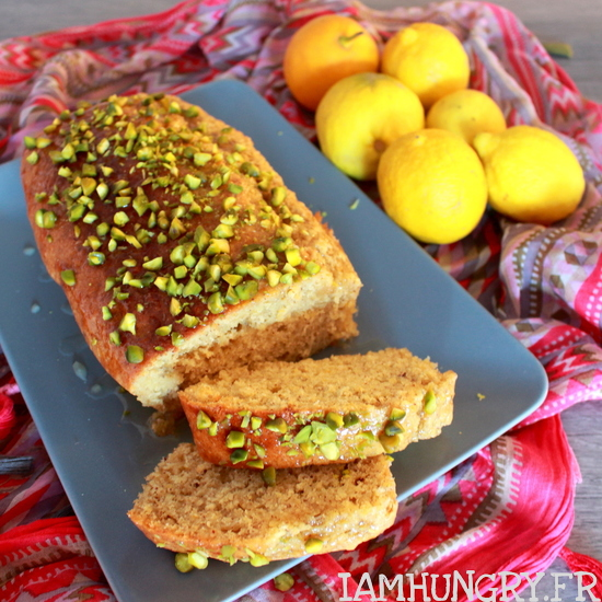 Cake citron pistaches