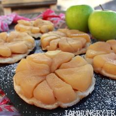 Mini tatin aux pommes 1