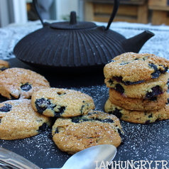 Scones myrtilles 1a