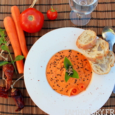 Gaspacho carotte 1b