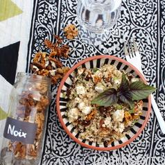 Salade boulgour quinoa feta noix 3