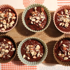 Muffin chocolat noisettes 2
