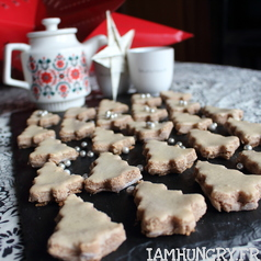 Biscuits sapin a la cannelle 1c