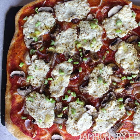 Pizza végane