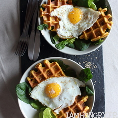 Gaufre patate douce 1g