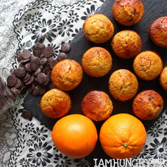 Muffins orange chocolat 1b