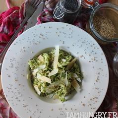 Salade courgette parmesan 1a