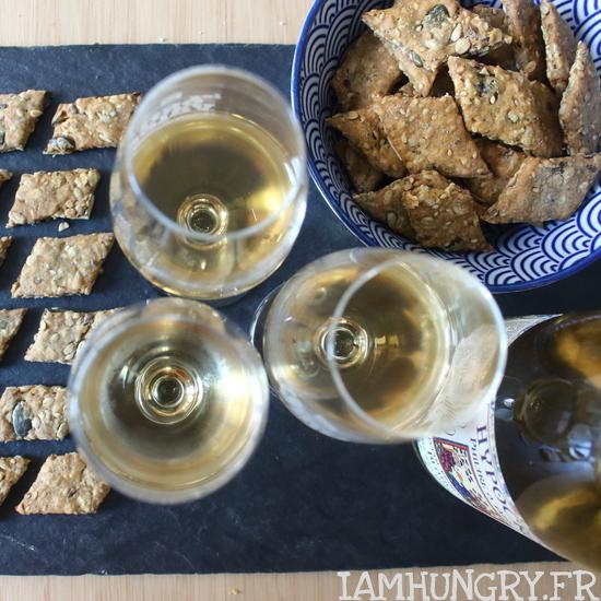 Crackers apéritifs aux mille graines