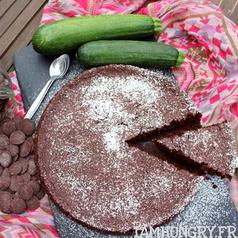 Gateau courgette chocolat 1c
