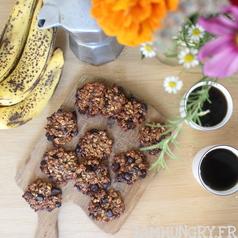 Cookie banane avoine chocolat 1a