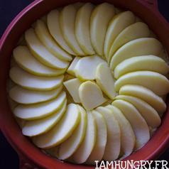 Gateau pommes pralines 2