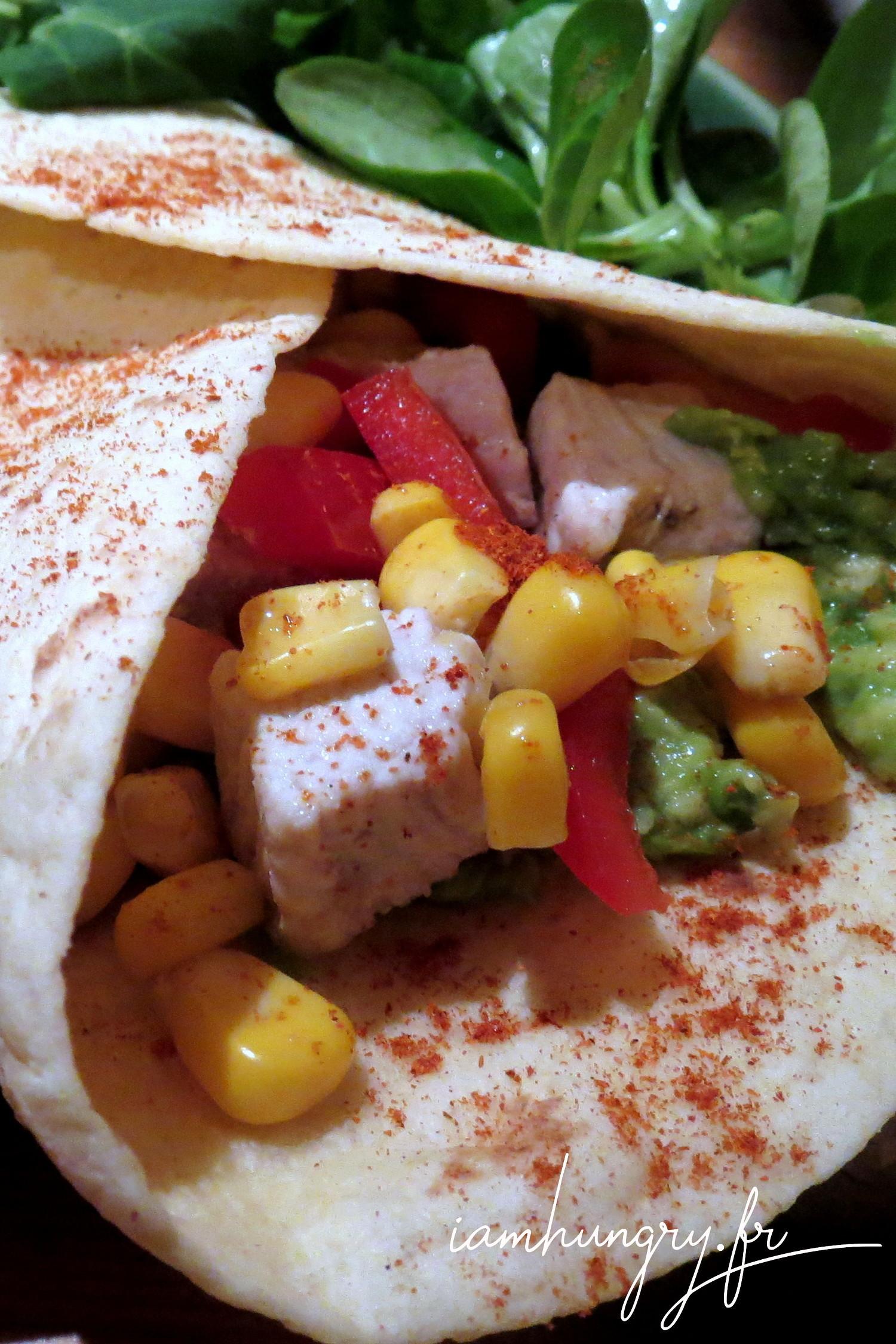 Wrap mexicain