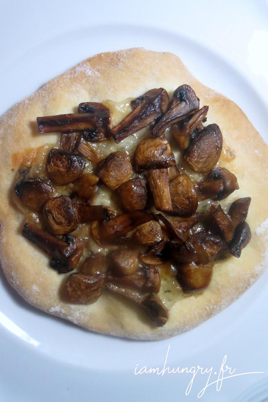 Tarte brioche%cc%81e champignons