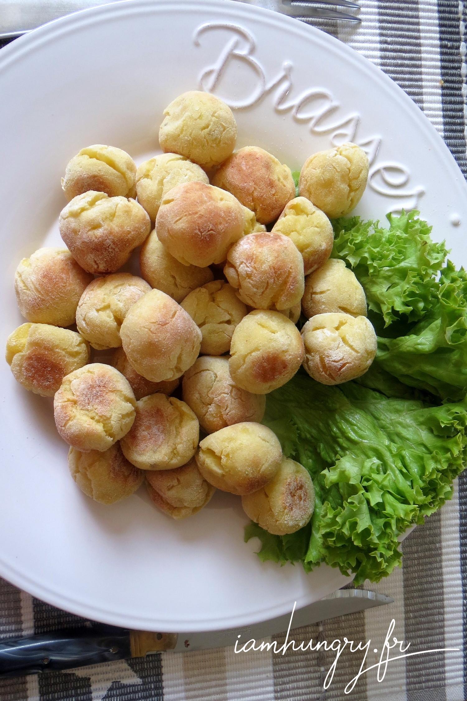 Pommes dauphines légères