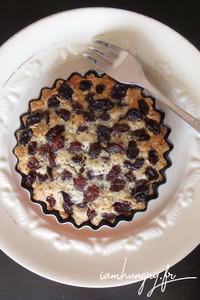 Tartelettes raisins secs