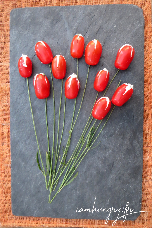 Bouquet tomates cerises che%cc%80vre