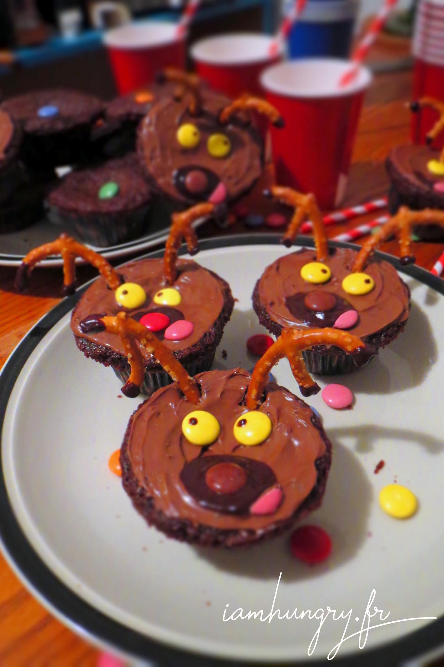Cupcakes cariboo du Québec