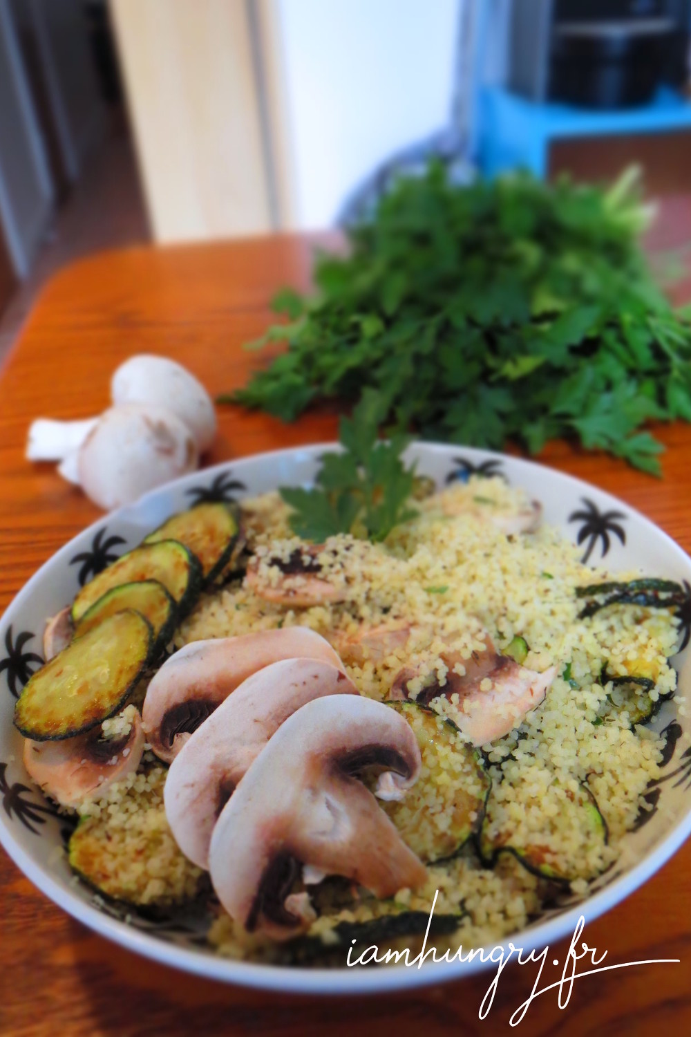 Taboule%cc%81 courgette champi