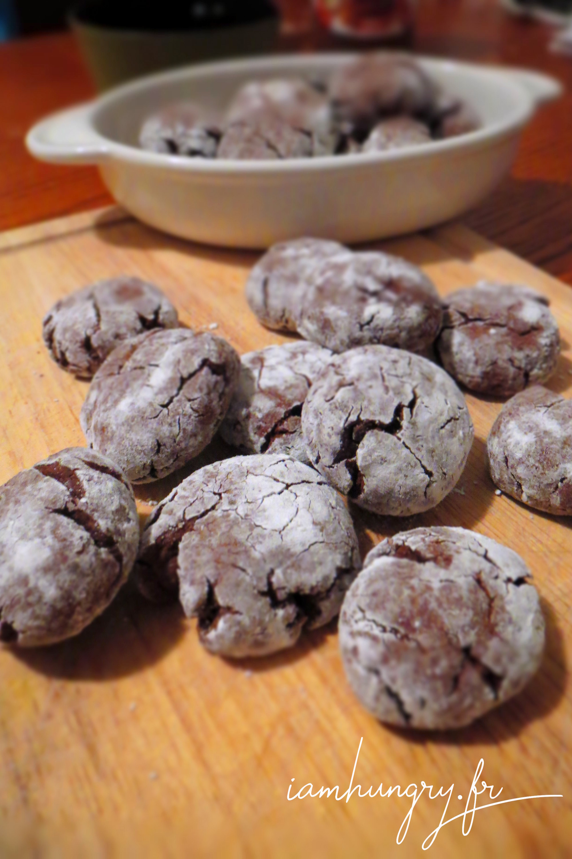 Petits biscuits au cacao et Nutella