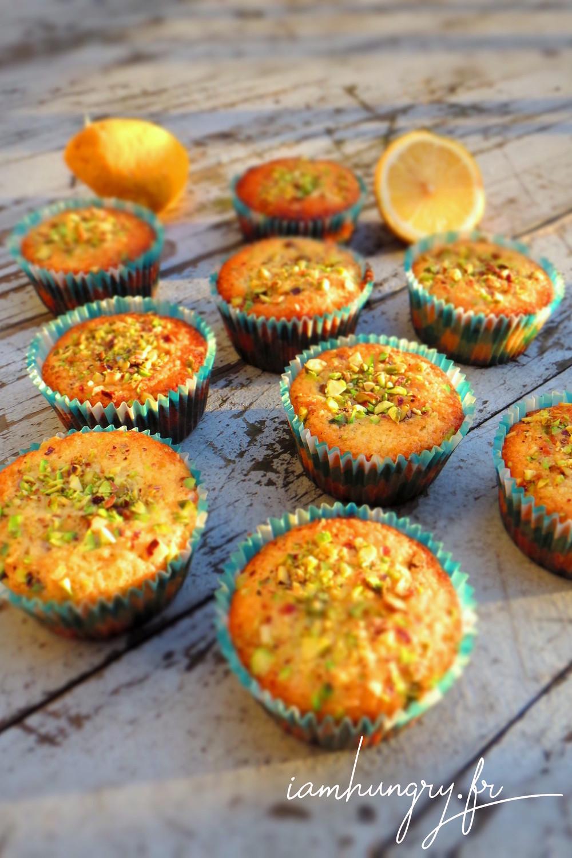 Muffins citron pistache