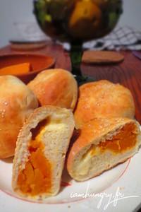 Buns courge mozzarella