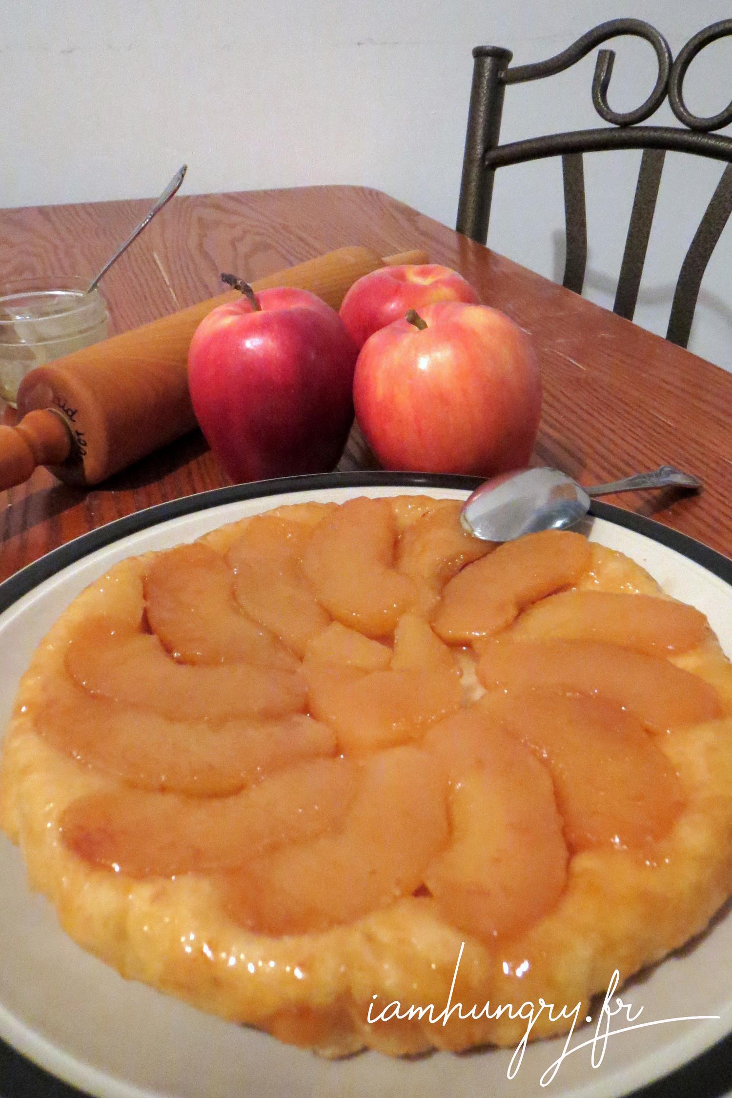 Tatin aux pommes et à l'érable