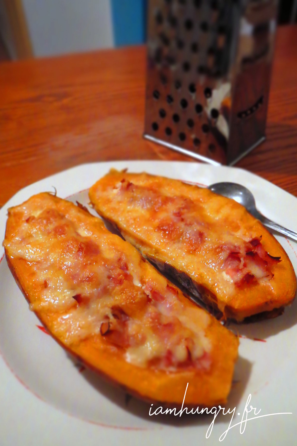 Patate douce farcies