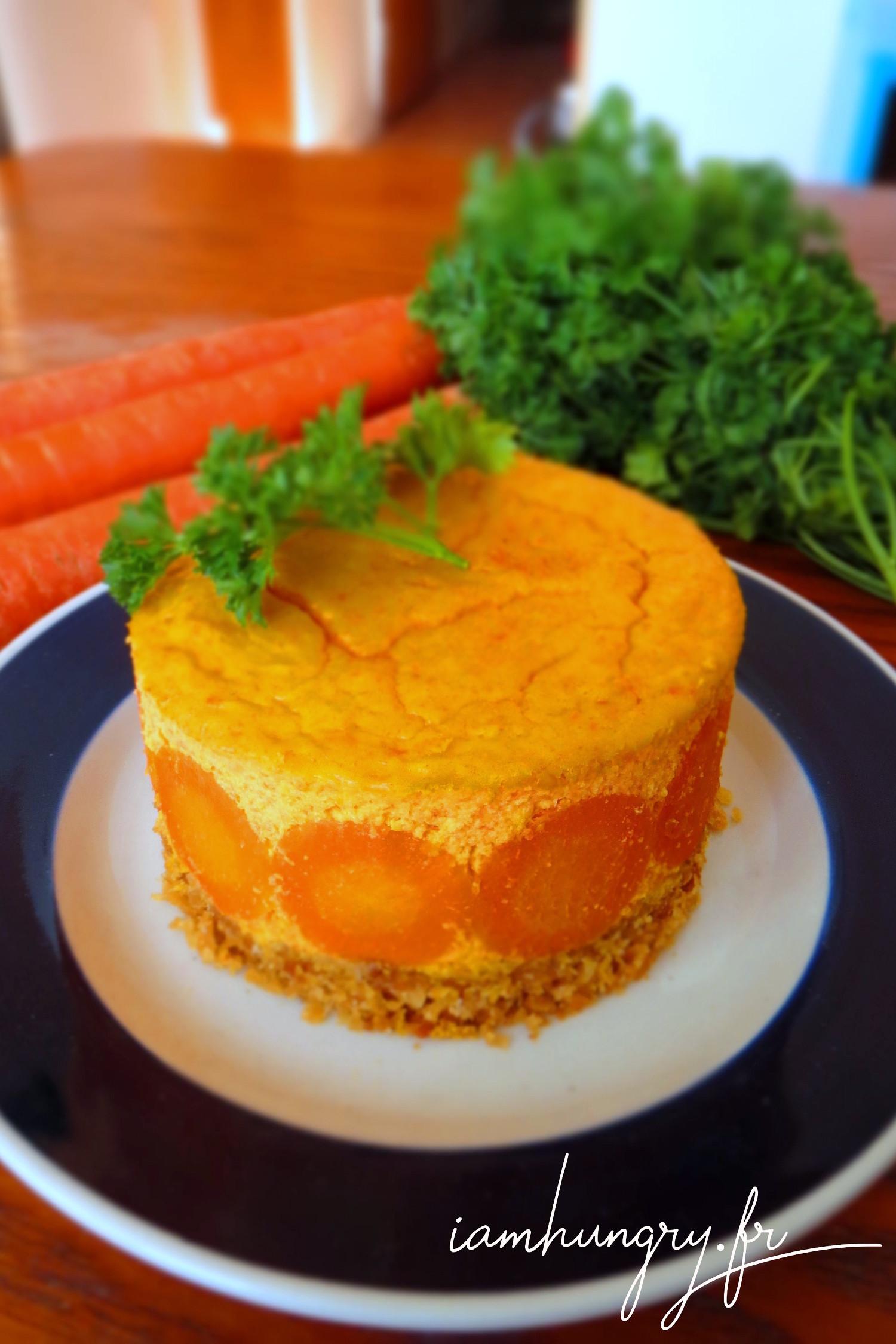 Cheesecake aux carottes