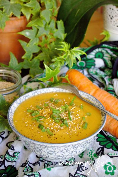 Velouté de carottes et rutabagas à l'érable