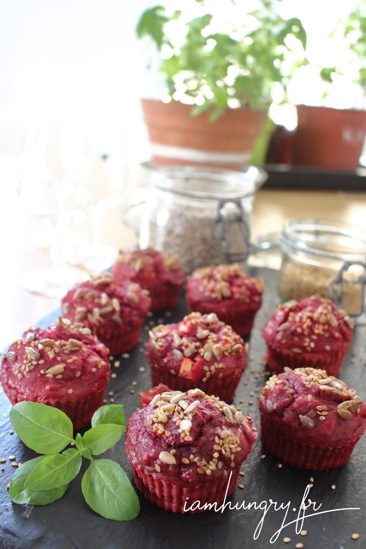 Muffins betterave feta 1a