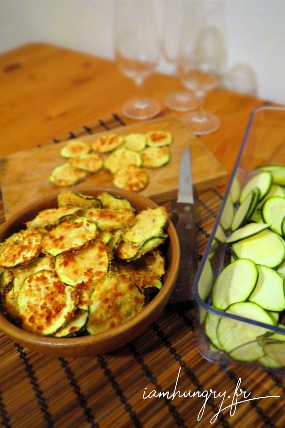 Chips courgette