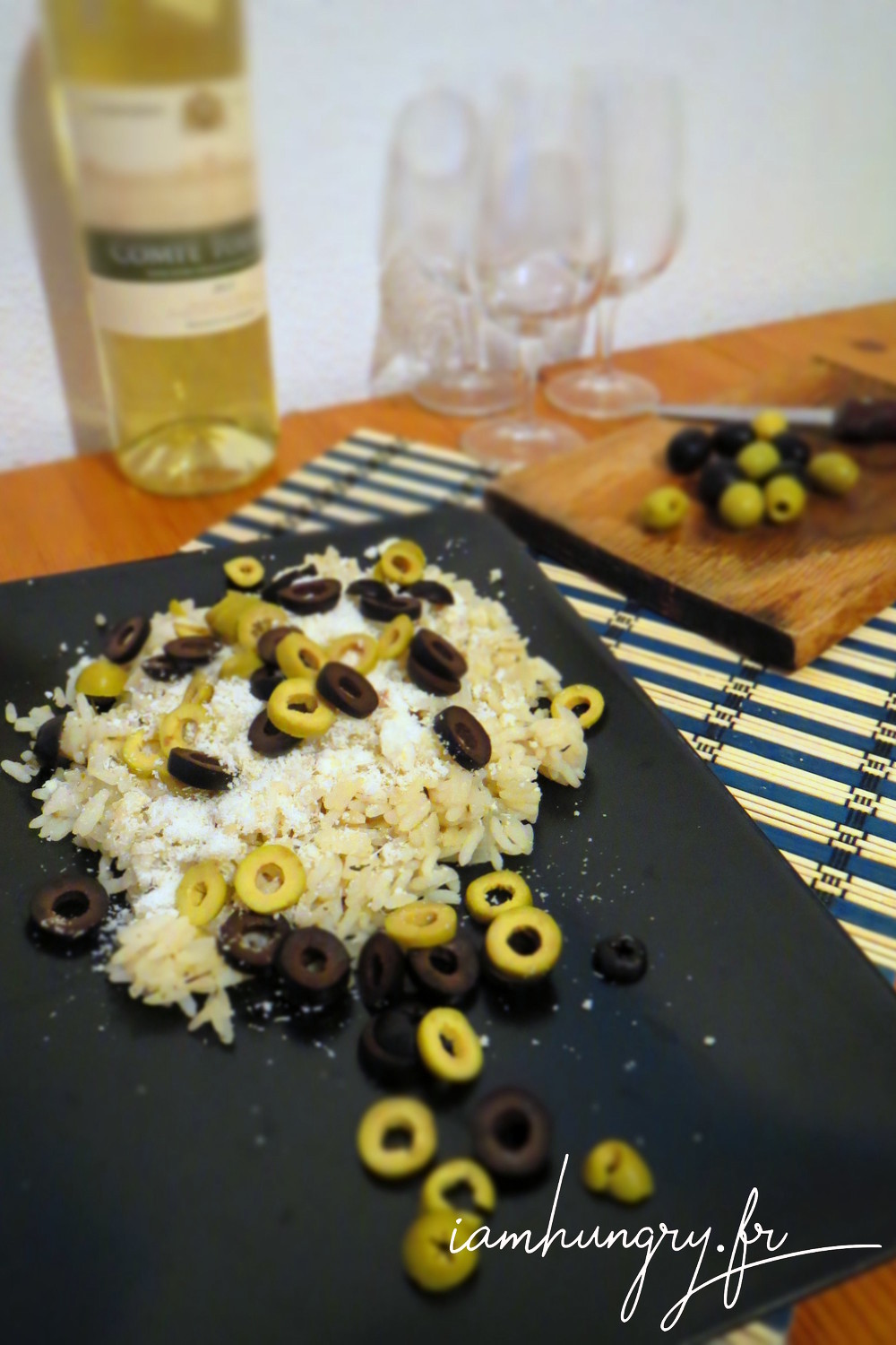 Risotto olives