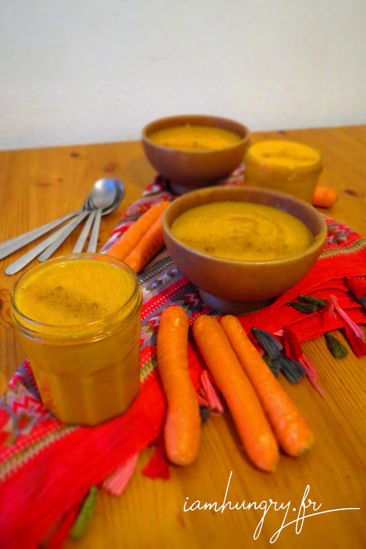 Soupe carotte curry