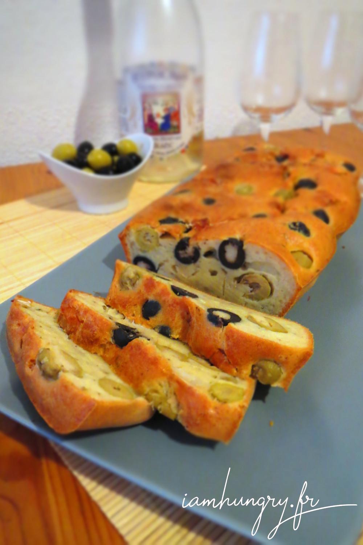 Cake Courgette Feta Coriandre