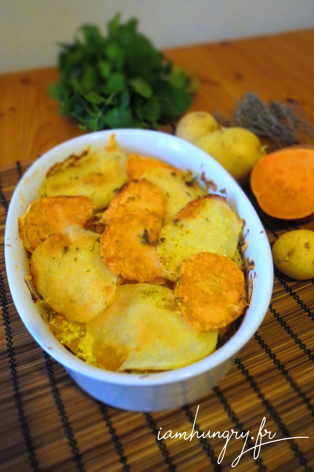 Gratin courge patate