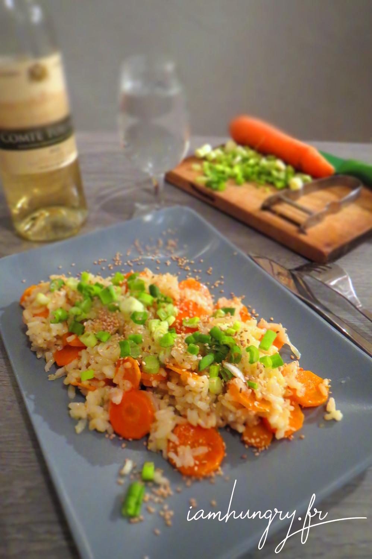 Risotto carottes