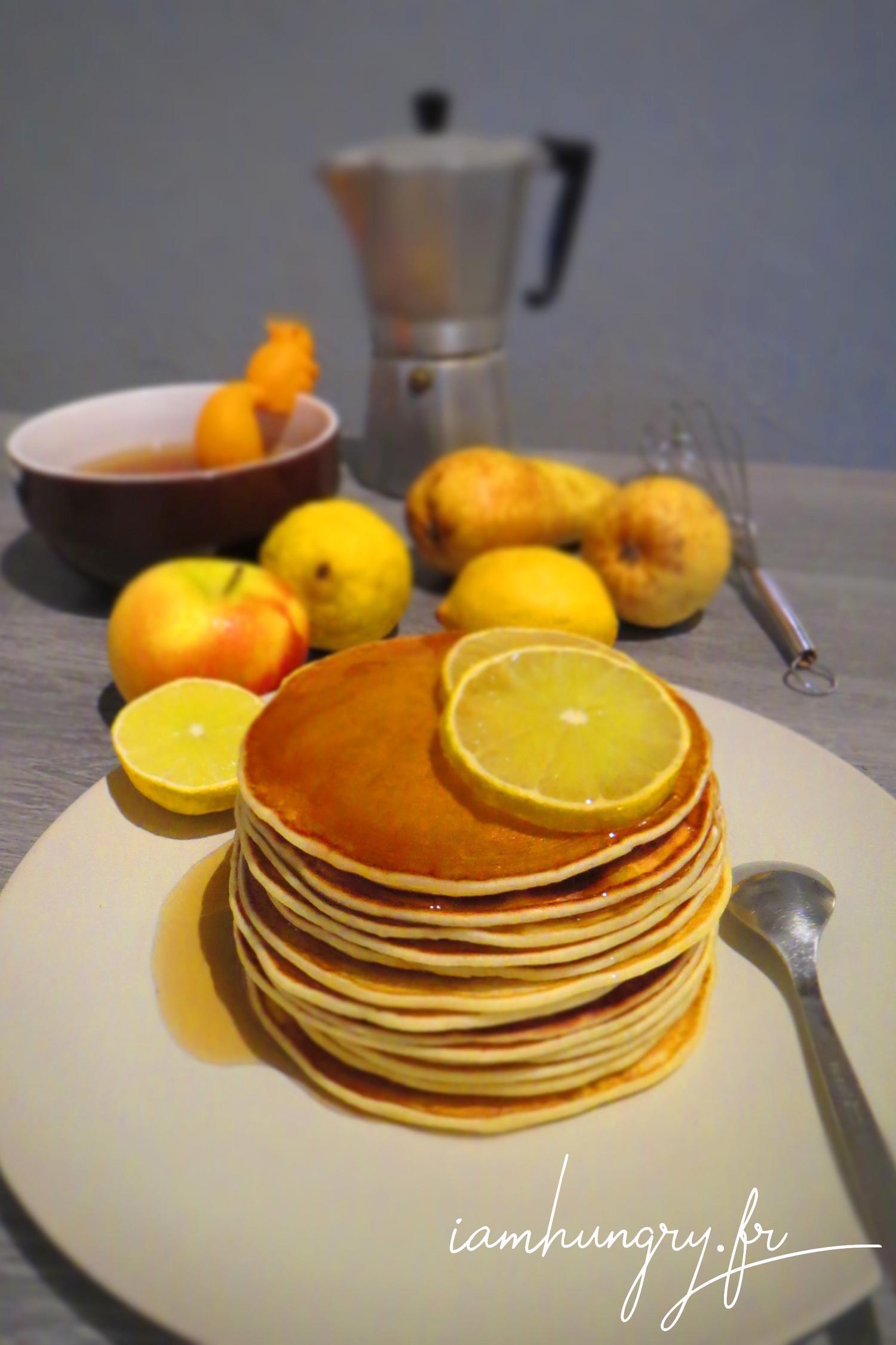 Pancakes au citron