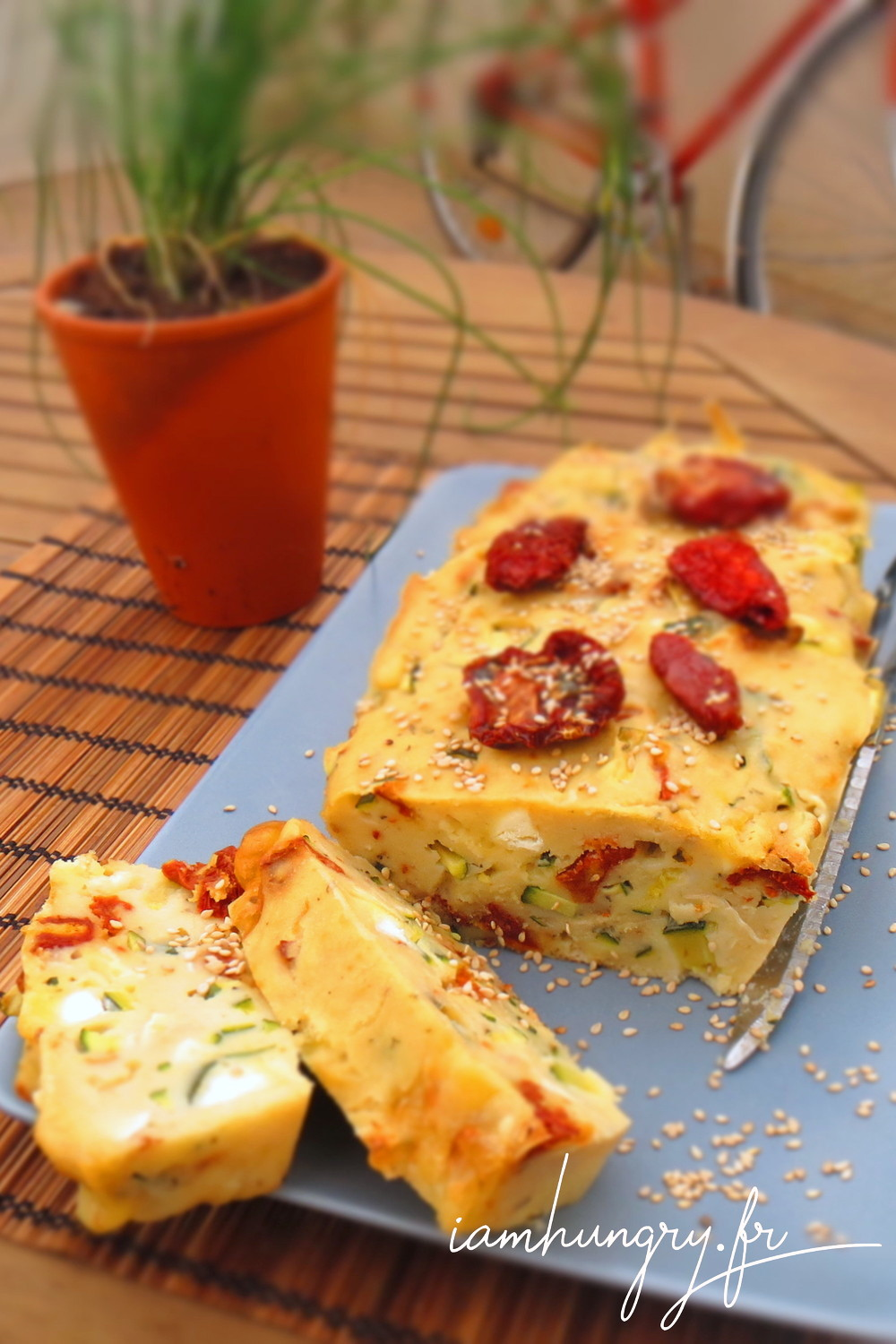 Cake Courgettes Tomates S Ef Bf Bdch Ef Bf Bdes Picard