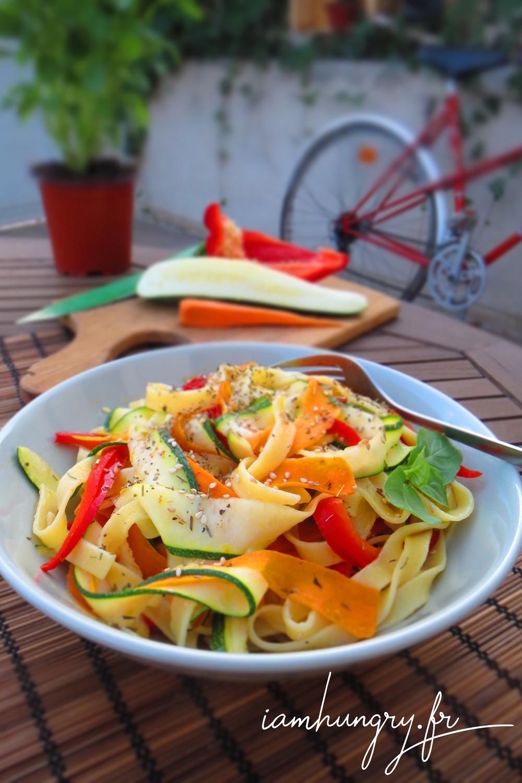 Tagliatelles de legumes