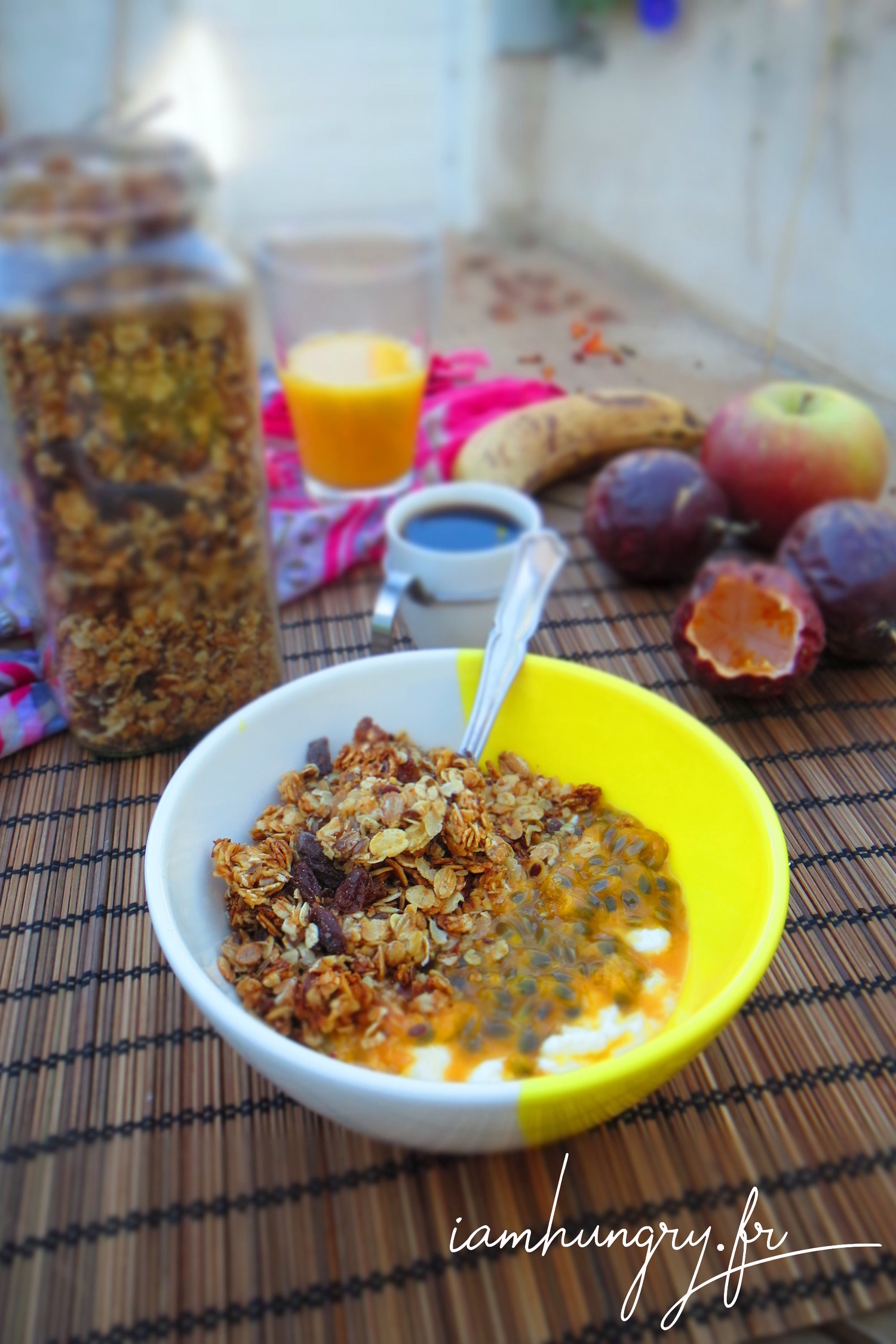 Muesli au fruit de la passion