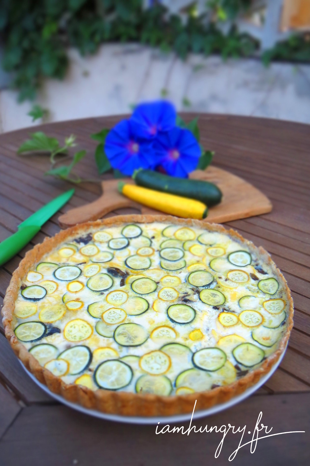 Quiche 2courgettes