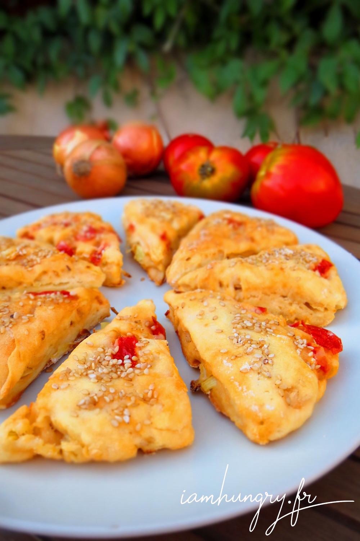 Scones tomates oignon