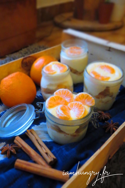 Tiramisu clementines