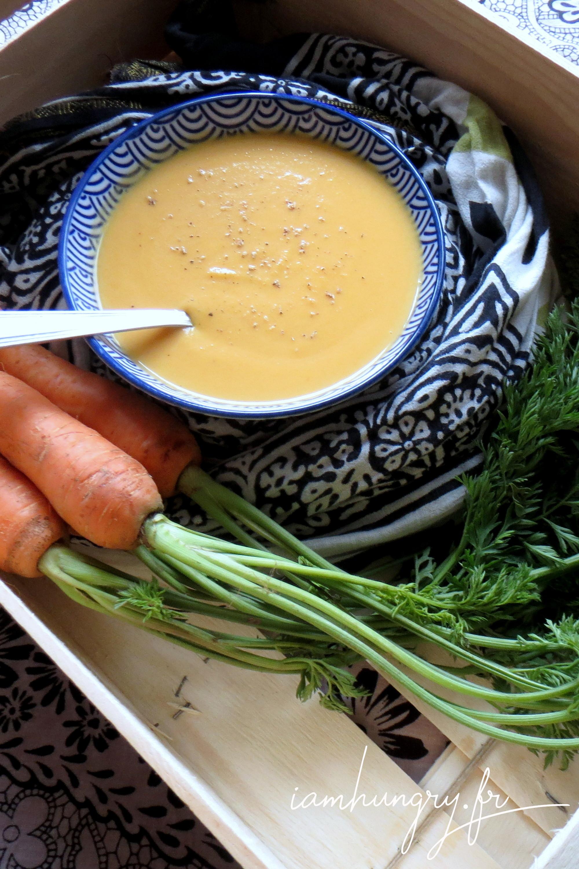 Soupe carottes coco