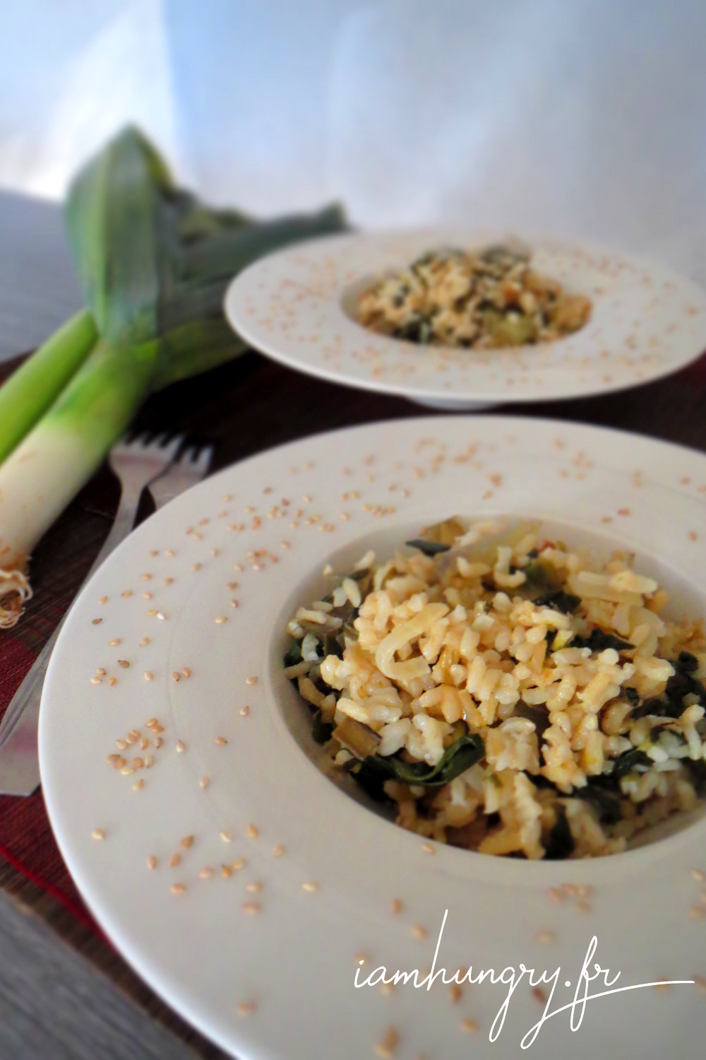 Risotto corse aux herbes