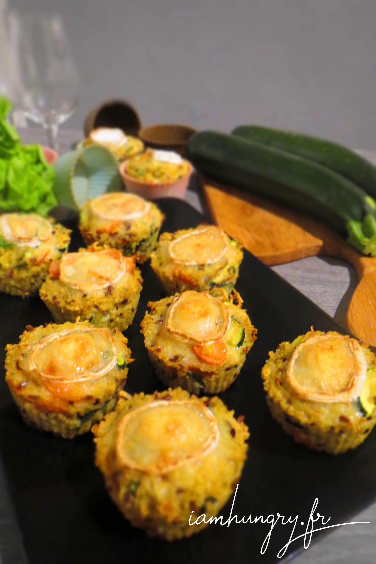 Petits cakes de légumes et quinoa