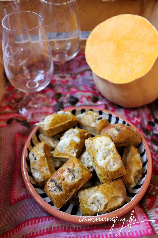 Mincakes courge roquefort