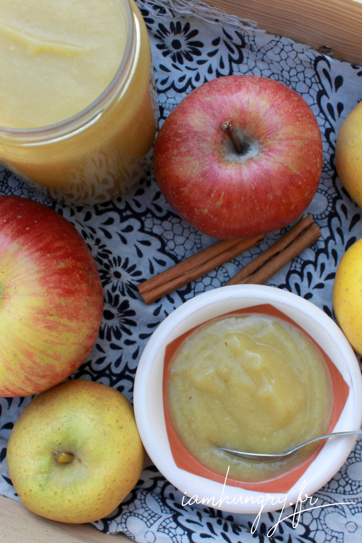Compote de pommes à la cannelle