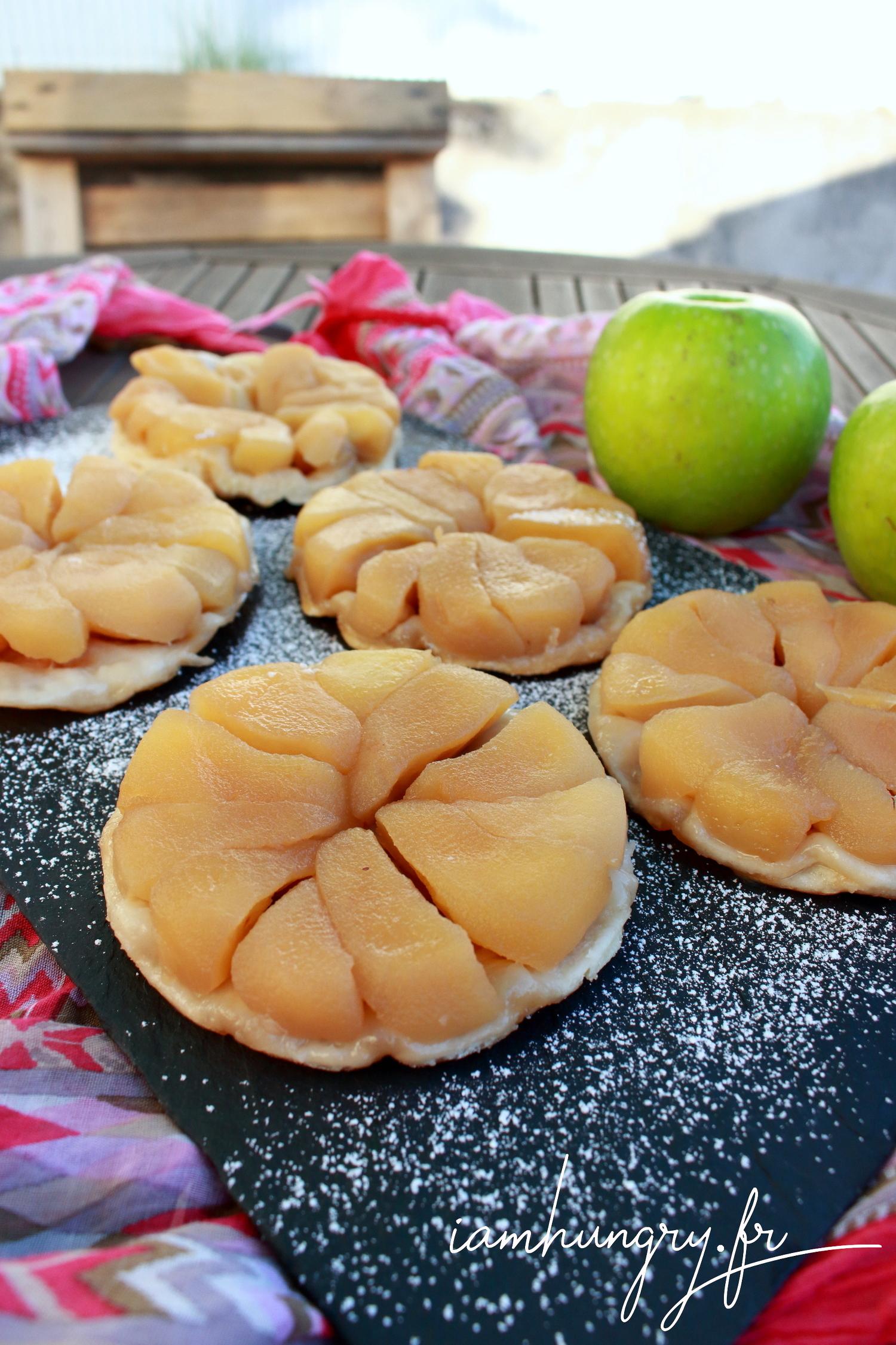 Mini tatin aux pommes